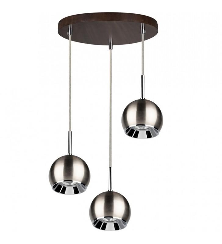 Ball Wood 3 zwisowa lampa z...