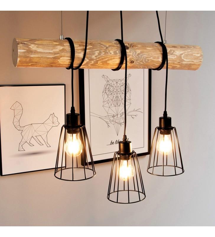 Lampa wisząca Trabo Short 3...