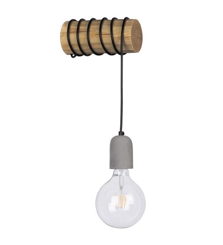 Minimalistyczny drewniany...