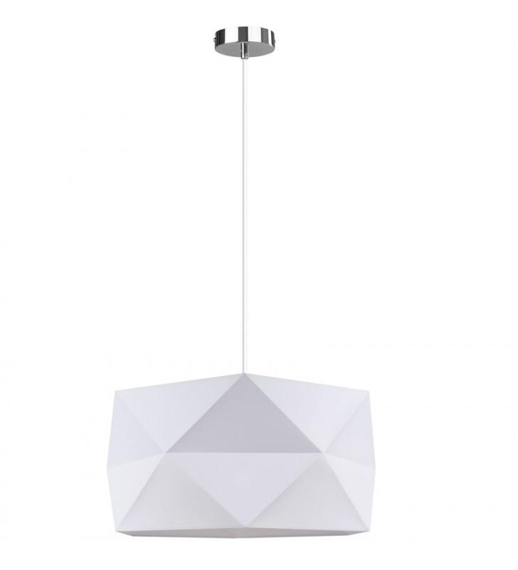 Biała nowoczesna lampa...