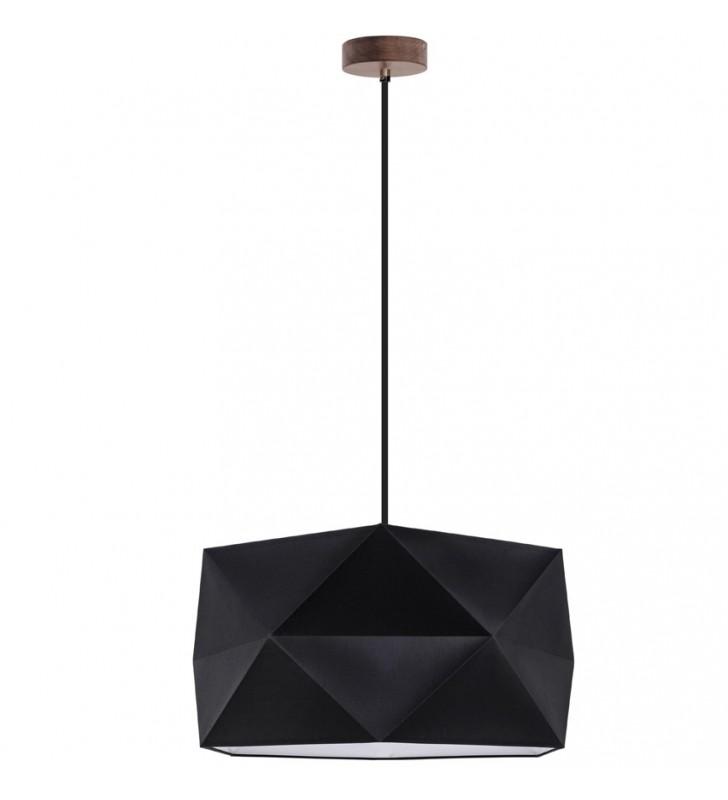 Czarna lampa wisząca Finja...