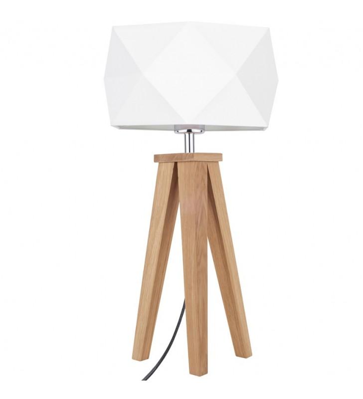 Lampa stołowa Finja biały...