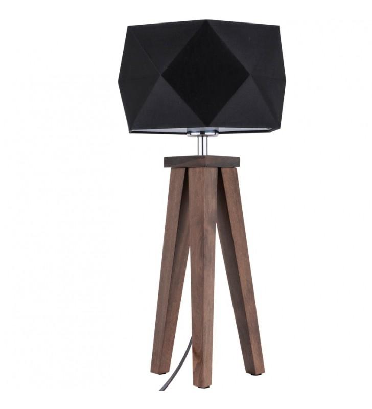 Lampa stołowa Finja czarny...