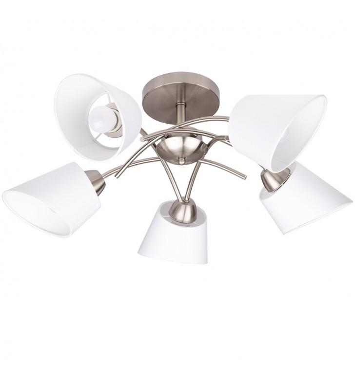 5 ramienne satynowa lampa...