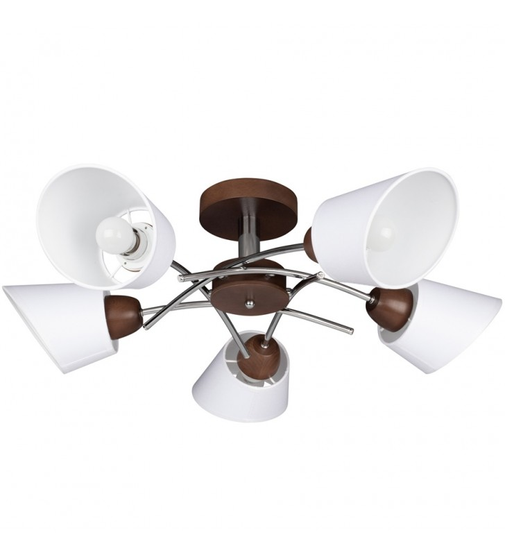 5 ramienna lampa sufitowa...