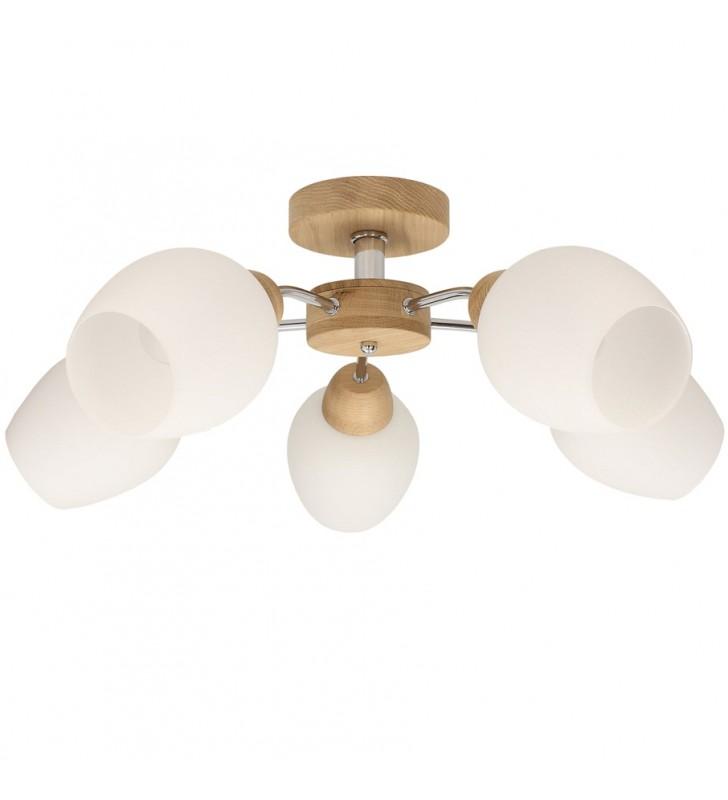 Lampa sufitowa Parma Wood z...