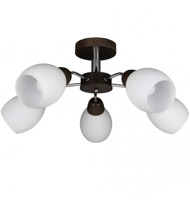 5 ramienna lampa sufitowa z...