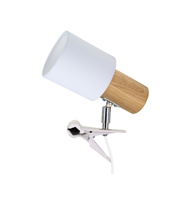 Lampa kinkiet z klipsem...