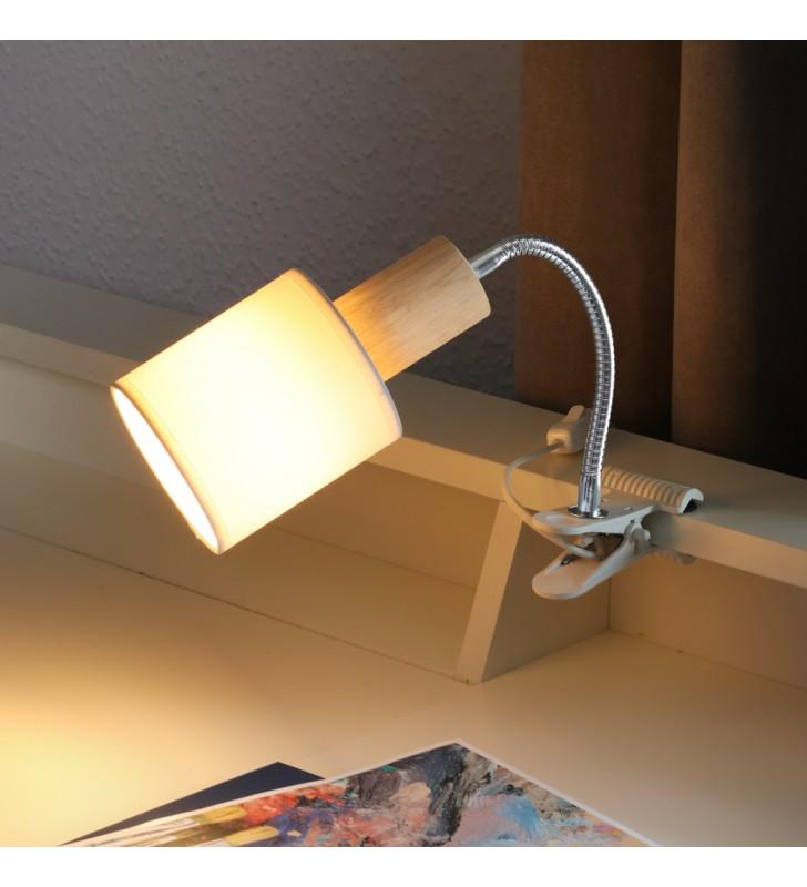 Kinkiet lampka z klipsem...