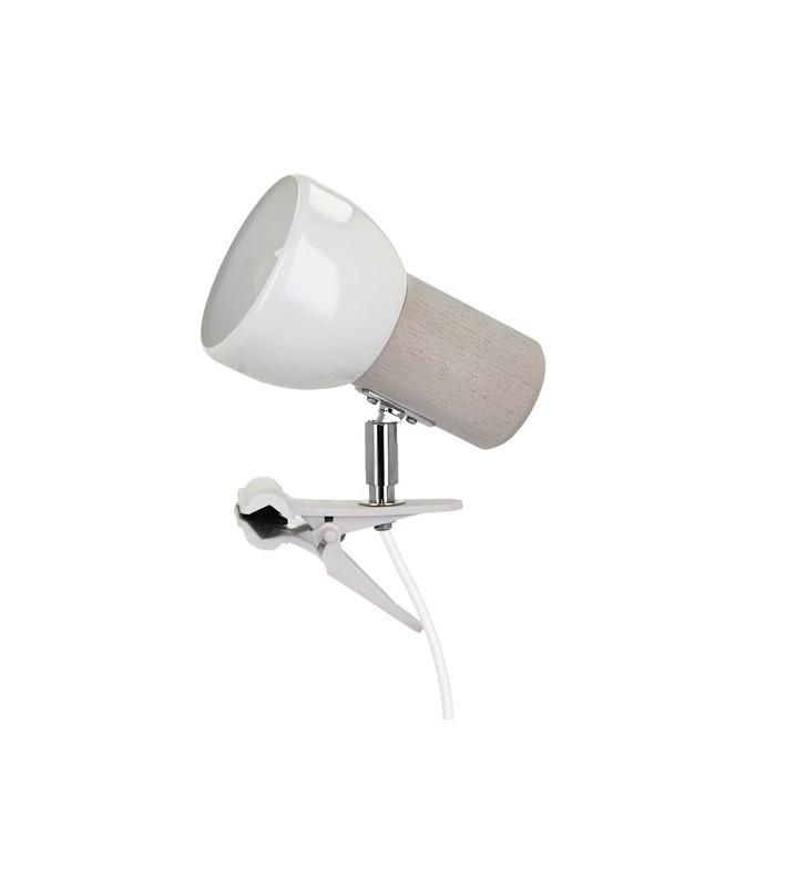 Lampa mocowana na klips...