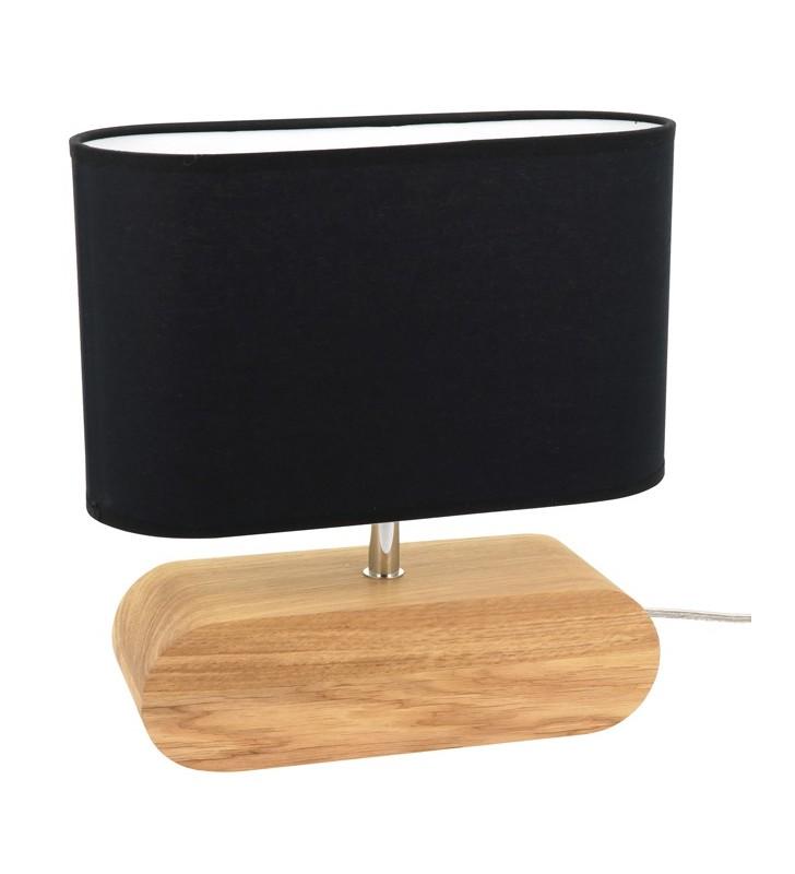 Nieduża lampa stołowa z...