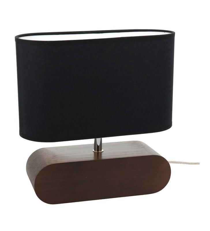 Ciemna 31cm lampa stołowa...