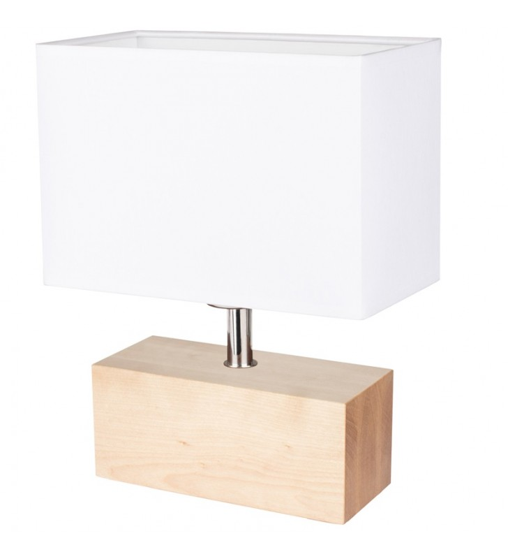 Niska lampa stołowa z...