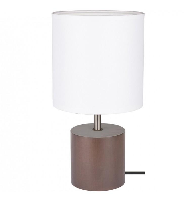 Lampa stołowa Trongo ciemne...
