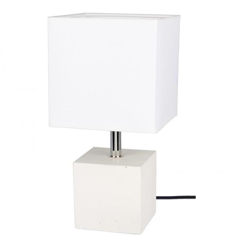Lampa stołowa Strong biała...