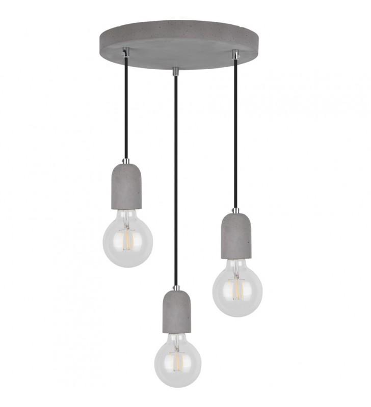 Lampa wisząca Amory beton...