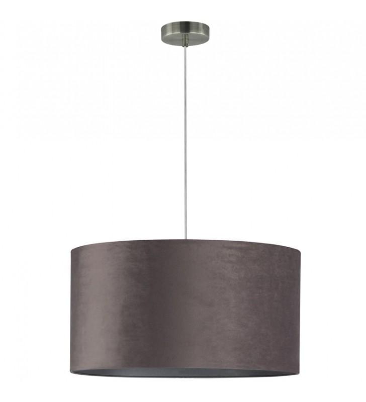Szara abażurowa lampa...