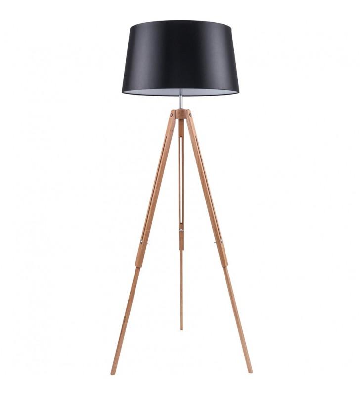 Lampa stojąca Tripod czarny...