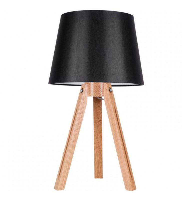 Lampa stołowa Tripod czarny...