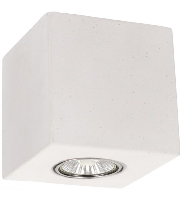 Biała lampa sufitowa z...