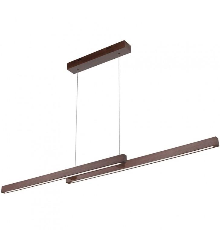 Drewniana nowoczesna lampa...