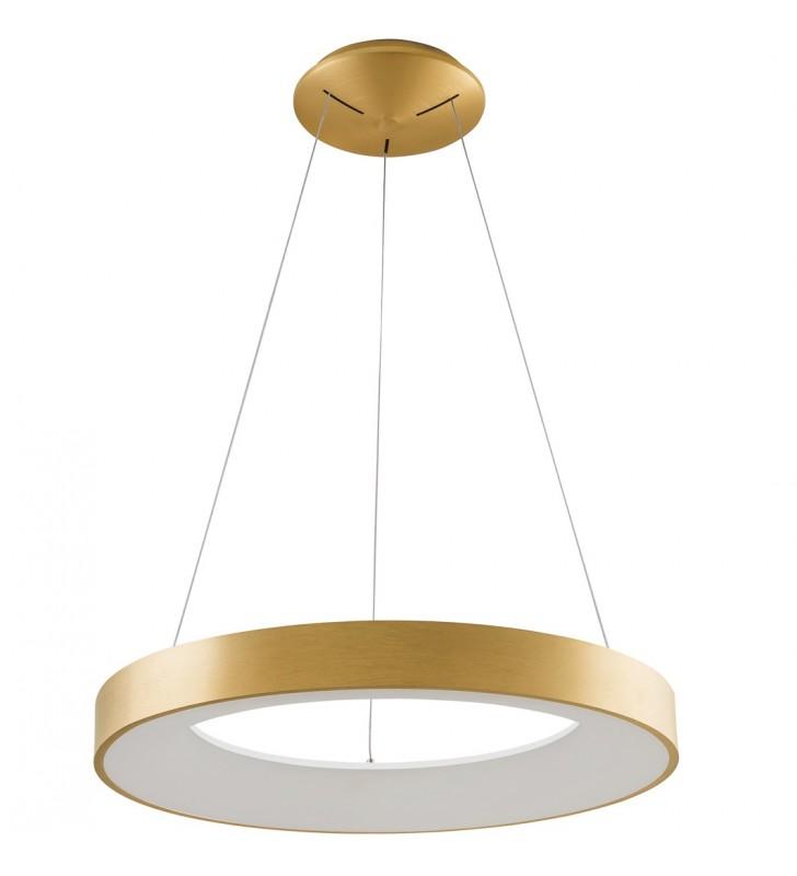 Nowoczesna złota lampa...