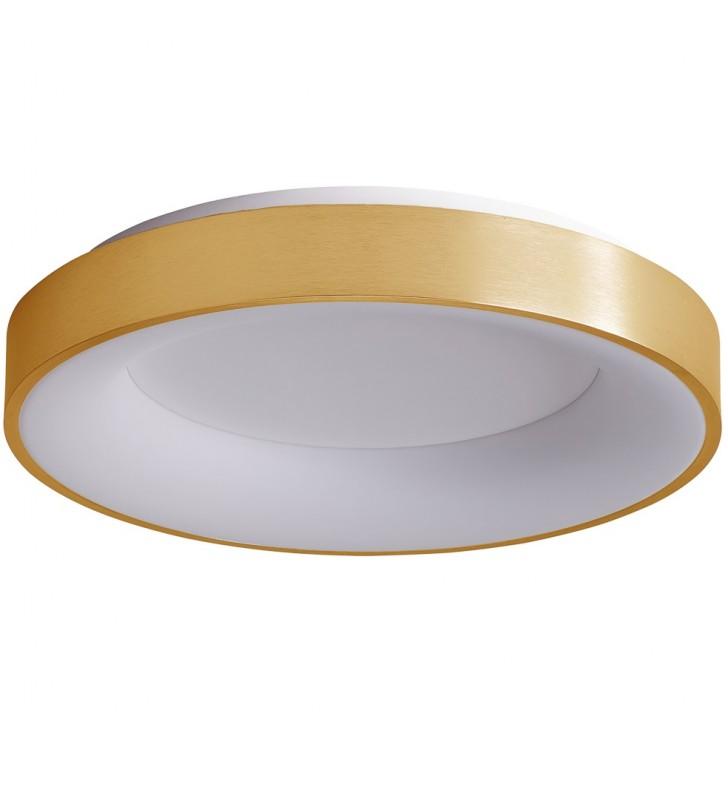 Nowoczesny złoty okrągły...