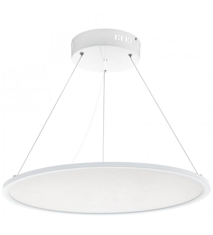 60cm okrągła biała lampa...