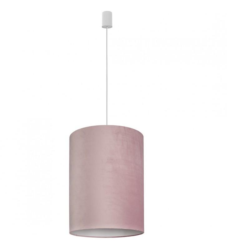 Barrel 35cm różowa lampa...