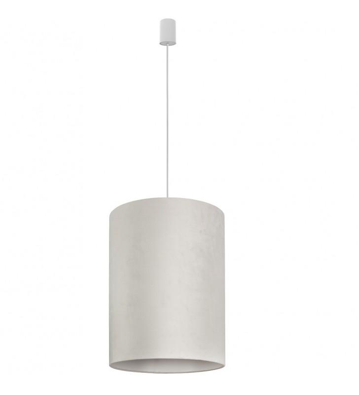 Lampa wisząca Barrel biała...
