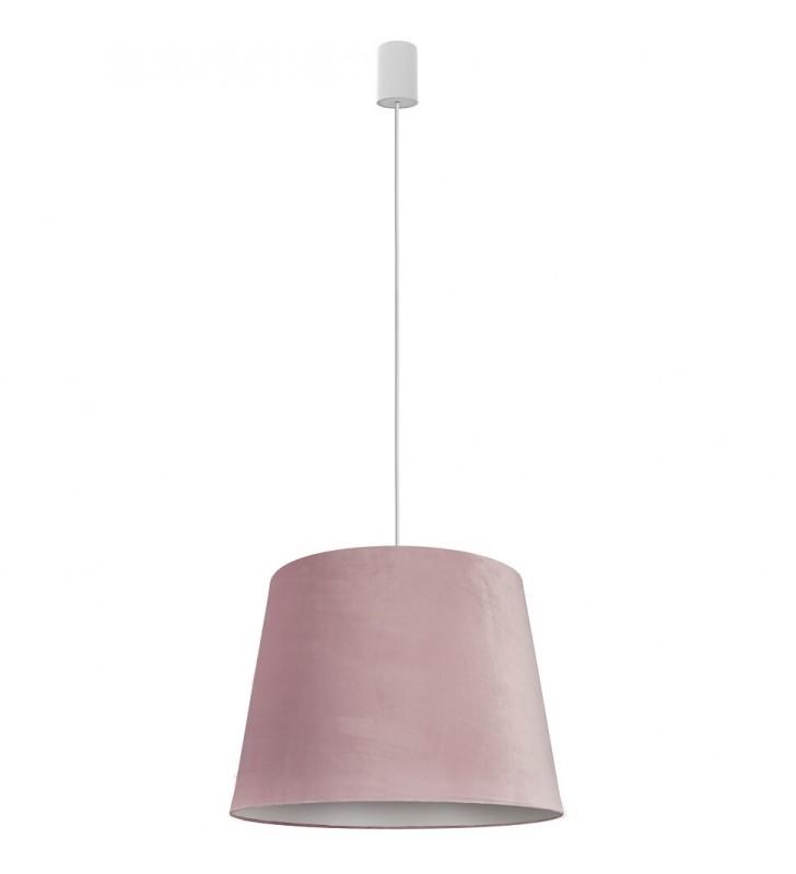 Cone różowa lampa wisząca z...