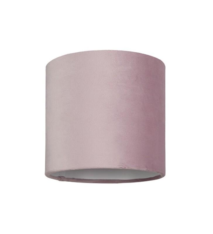 Różowy abażur do lampy...