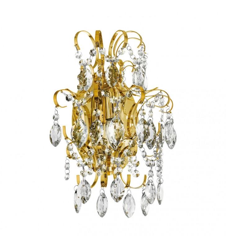 Elegancki stylowy złoty...