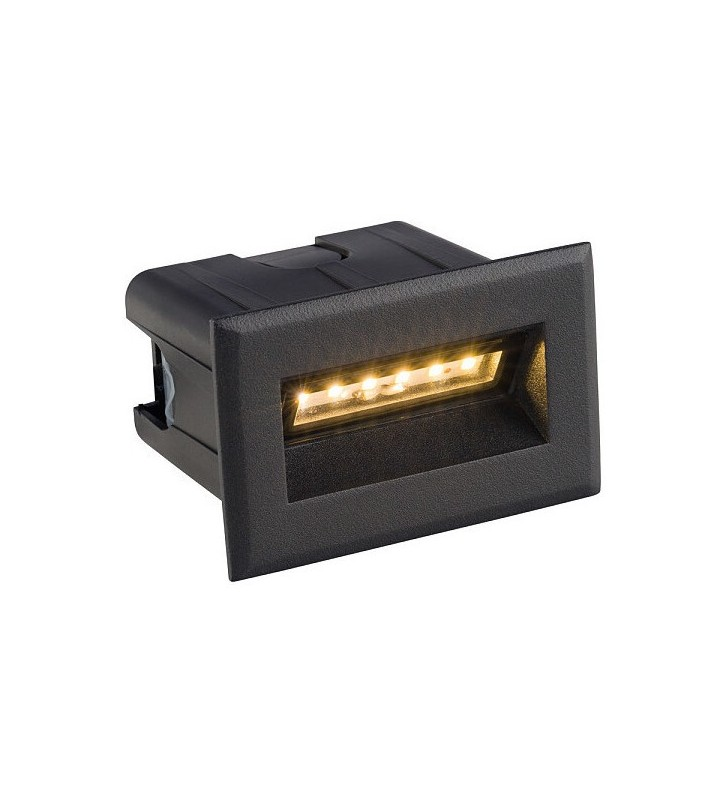 Czarna prostokątna lampa...