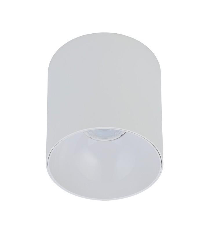Natynkowa biała lampa...