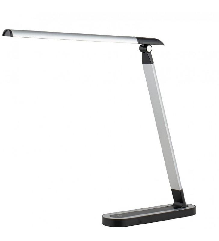 Chic LED nowoczesna srebrno...