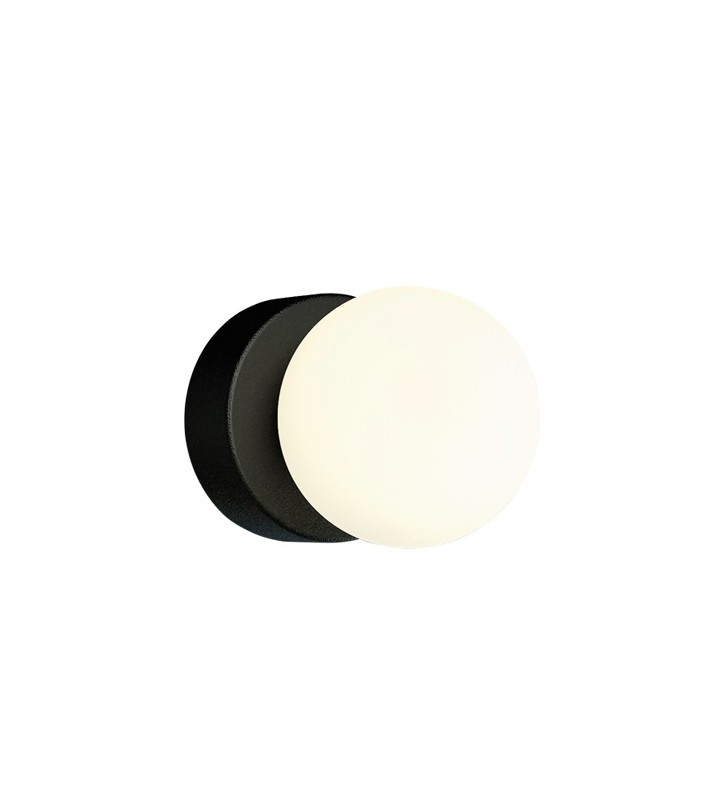Pojedyncza okrągła czarna...