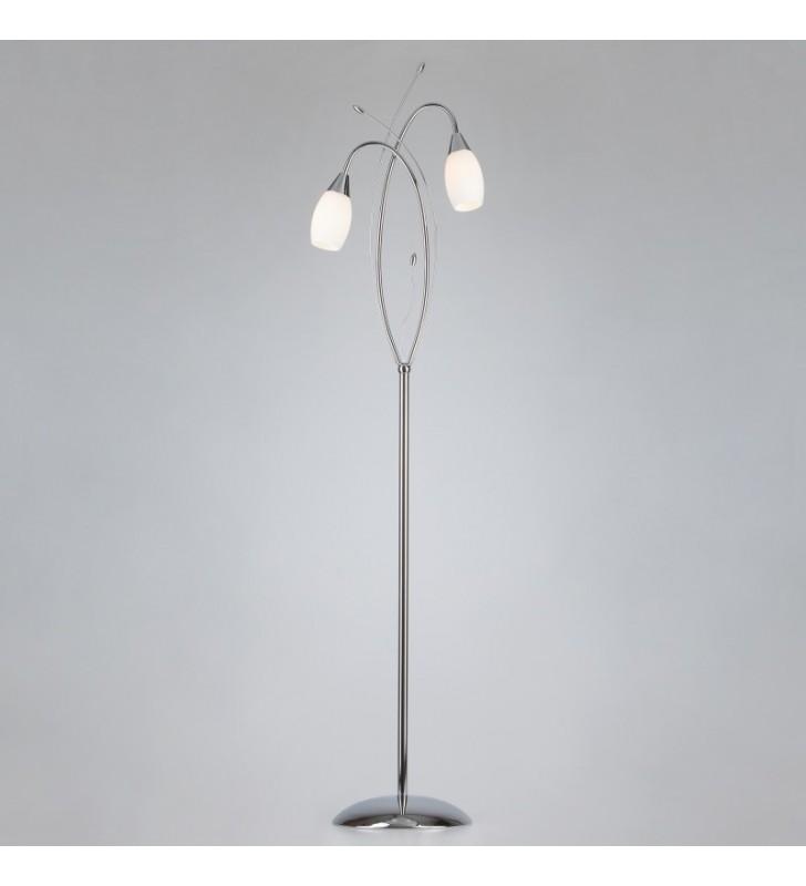 Podwójna lampa podłogowa...