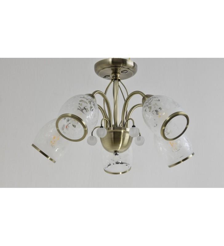 5 ramienna klasyczna lampa...