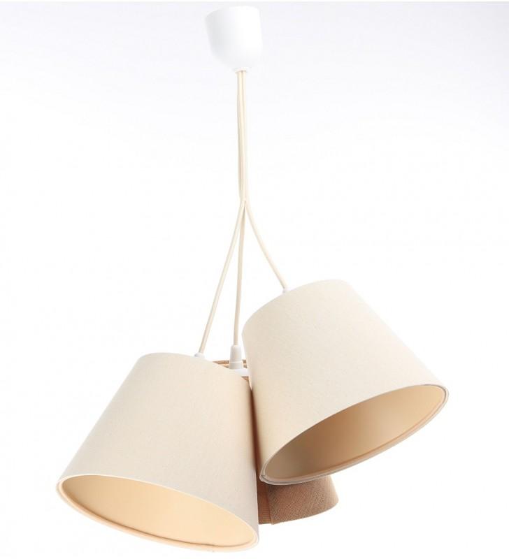 Potrójna nowoczesna lampa...