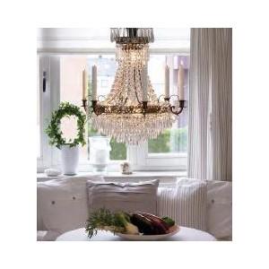 Żyrandol z kryształkami, żyrandole z kryształkami, lampy kryształowe sufitowe do salonu, sypialni