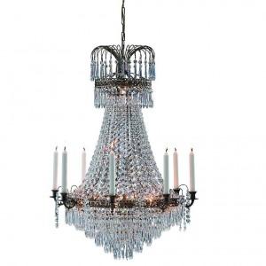 Żyrandole kryształowe, żyrandol kryształowy do salonu, żyrandole z kryształkami