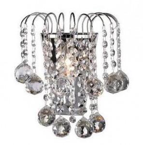 Kinkiety kryształowe, kinkiet kryształowy, kinkiet z kryształkami  do salonu, sypialni, łazienki