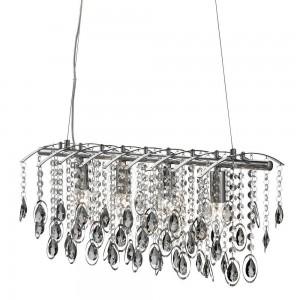 Lampy kryształowe wiszące do salonu, nad stół, nowoczesne oświetlenie kryształowe