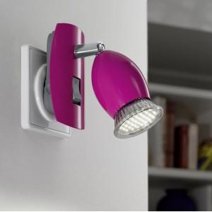 Lampy kinkiety z wtyczką wpinaną do gniazdka