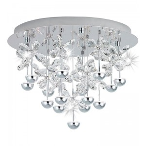 Lampy sufitowe kryształowe do domu i biura | apdmarket
